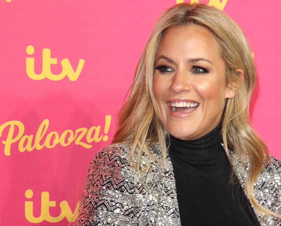 British TV Presenter Caroline Flack aged 40 was found dead today at her home. She had appeared as a host of several popular Television shows the most recent being Love Island for which she received a BAFTA TV Award during the 2019 ITV Palooza at the Royal Festival Hall. (Photo by Keith Mayhew / SOPA Images/Sipa USA)