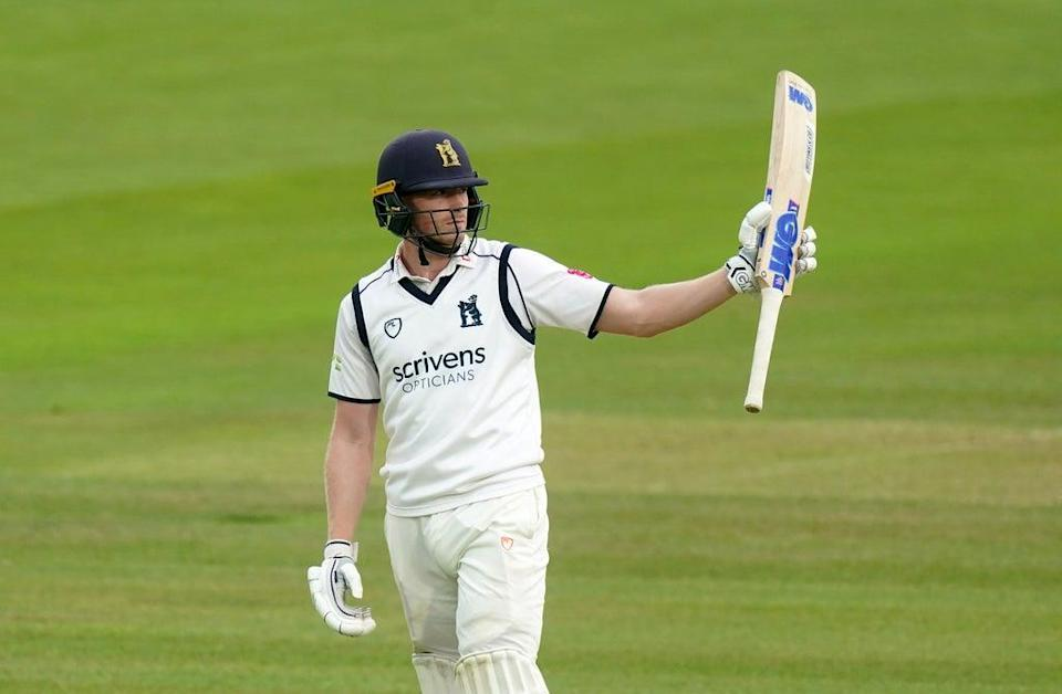 Rob Yates contributed 69 to Warwickshire's unbroken 120-run opening stand (Adam Davy/PA) (PA Wire)