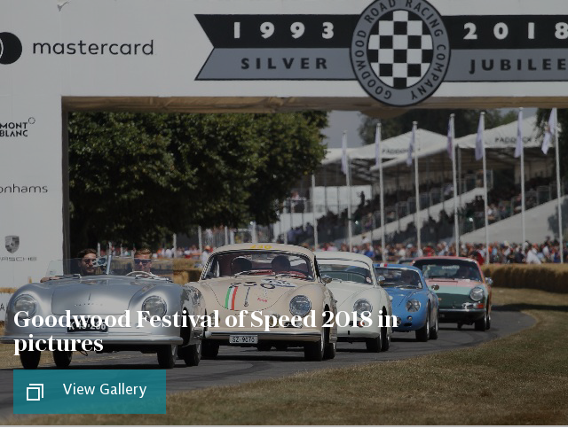 Cars puff - Goodwood Festival of Speed 2018 in pictures