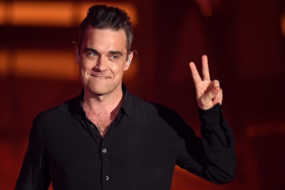 Robbie Williams in 2016. (Photo: Getty Images)