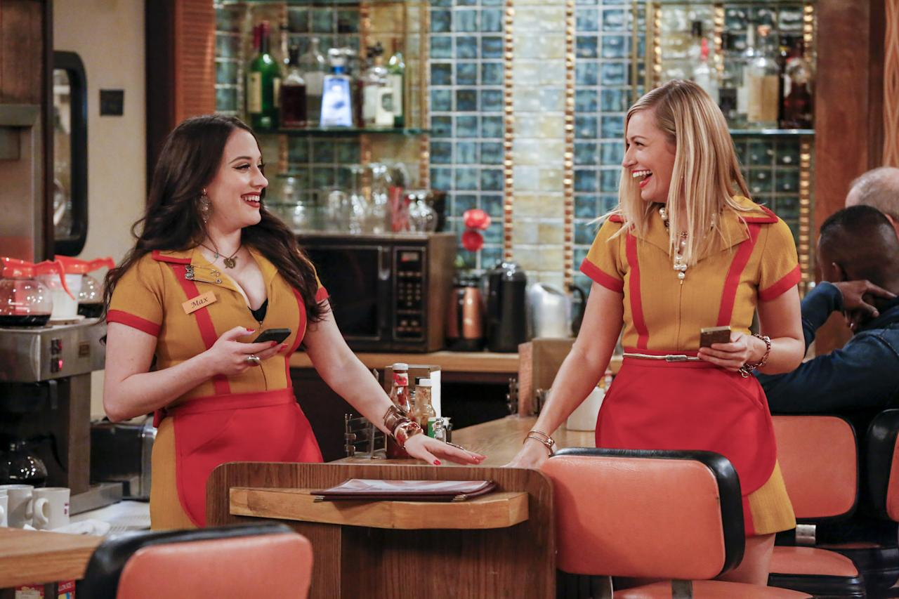 """<strong>2 Broke Girls on Amazon Prime</strong> Starring: <a href=""""https://en.wikipedia.org/wiki/Kat_Dennings"""" title=""""Kat Dennings"""">Kat Dennings</a>, <a href=""""https://en.wikipedia.org/wiki/Beth_Behrs"""" title=""""Beth Behrs"""">Beth Behrs</a>, <a href=""""https://en.wikipedia.org/wiki/Garrett_Morris"""" title=""""Garrett Morris"""">Garrett Morris</a>, <a href=""""https://en.wikipedia.org/wiki/Jonathan_Kite"""" title=""""Jonathan Kite"""">Jonathan Kite</a>, <a href=""""https://en.wikipedia.org/wiki/Matthew_Moy"""" title=""""Matthew Moy"""">Matthew Moy</a>, <a href=""""https://en.wikipedia.org/wiki/Jennifer_Coolidge"""" title=""""Jennifer Coolidge"""">Jennifer Coolidge</a> Airedfrom September 19, 2011, to April 17, 2017. During the course of the series, 136 episodes of<em>2 Broke Girls</em>aired over six seasons."""