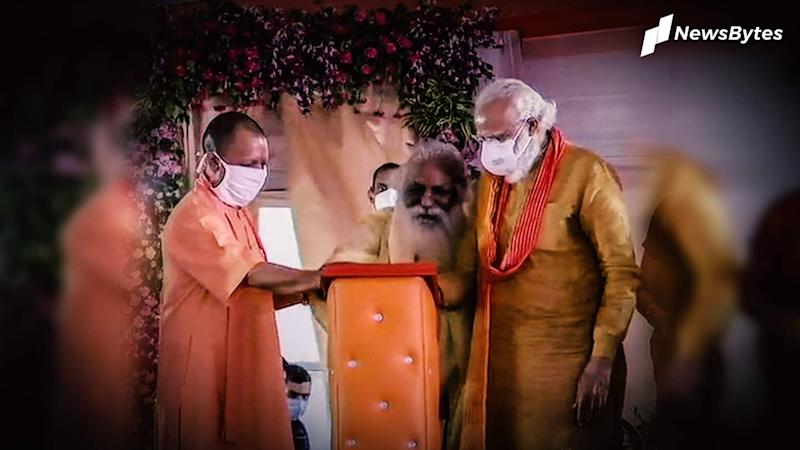 Nritya Gopal Das, who shared stage with PM, contracts coronavirus