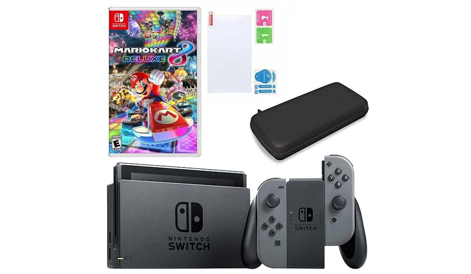 Score Nintendo's newest console and one of its most popular games for over $100 off! (Photo: QVC)