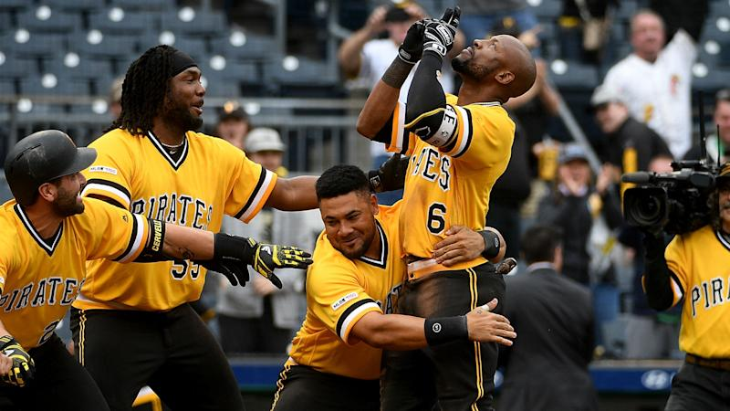 Marte hits walk-off homer to push Pirates past A's