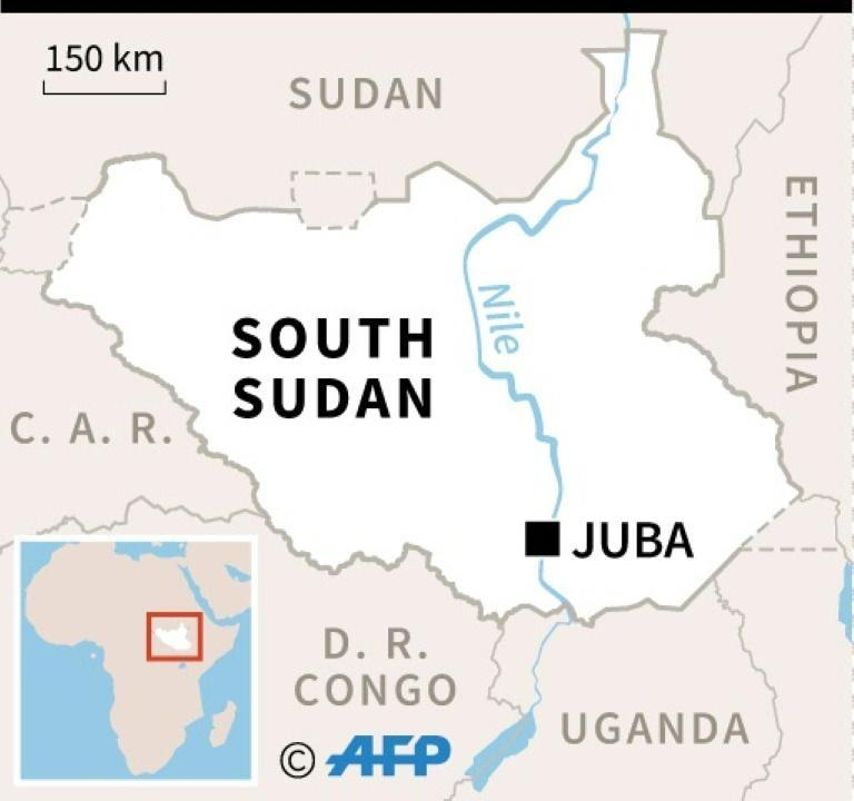 South Sudan gained independence from Sudan in 2011, but two years later plunged into a civil war after rebel leaders fell out (AFP Photo/Sophie RAMIS)