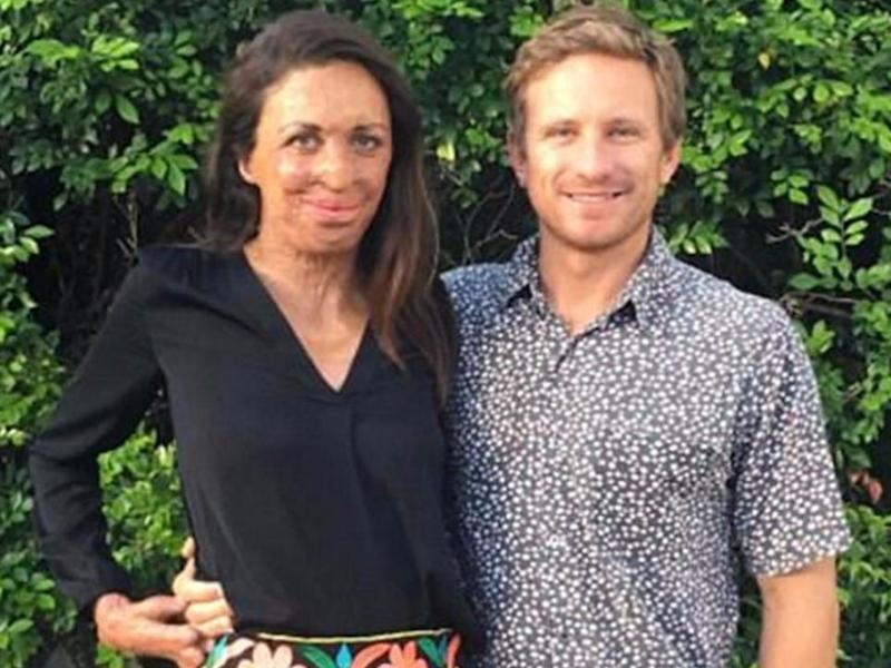 Turia and her partner Michael are stoked. Source: Instagram/turiapitt
