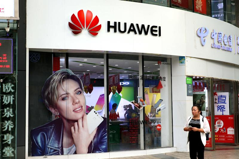 Huawei Aims New Watch, But Not Phone, At U.S. Market