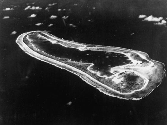 Nikumaroro, 1,600 miles south of Hawaii (The LIFE Picture Collection via )
