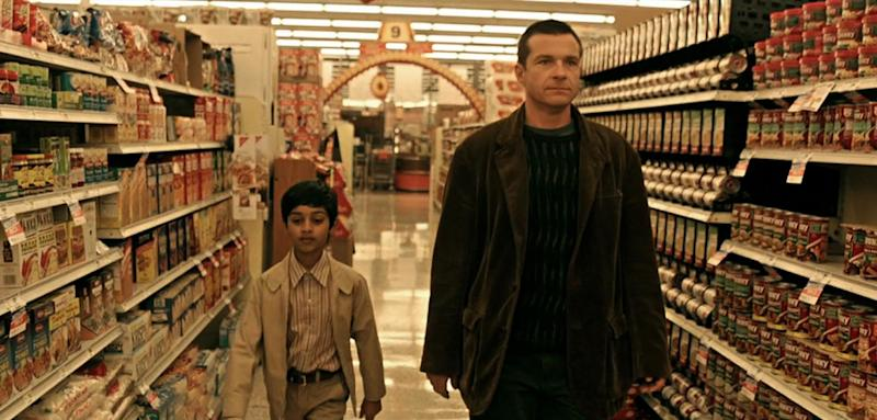 """This photo released by Focus Features shows Rohan Chand, left, and Jason Bateman in a scene from """"Bad Words."""" AP Photo/Focus Features)"""