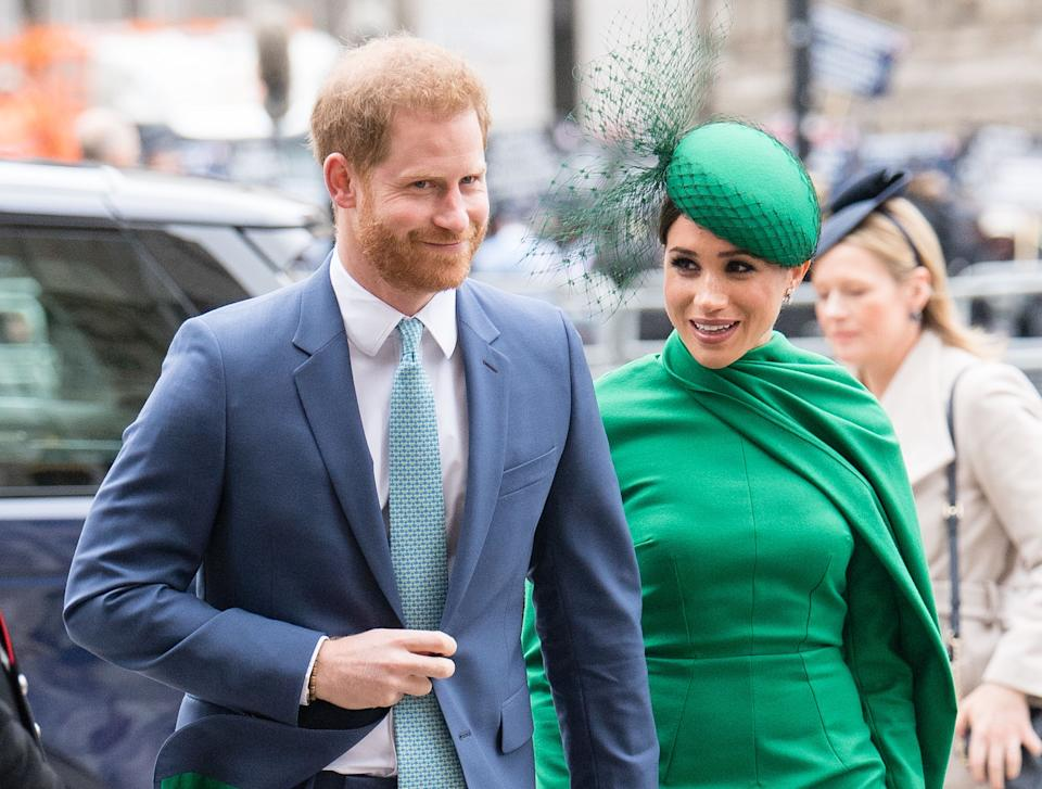 Prince Harry and Meghan Markle pictured last year (Photo: Samir Hussein/WireImage/Getty)