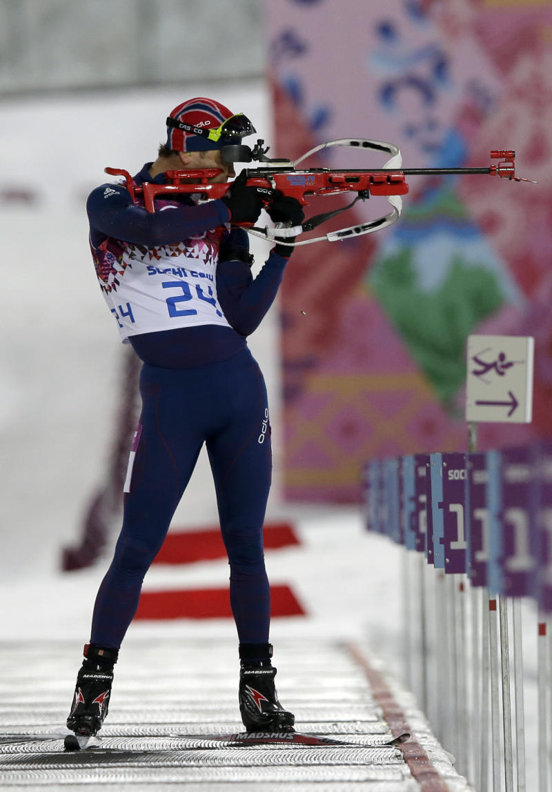 Bjoerndalen wins 7th career Olympic gold in sprint
