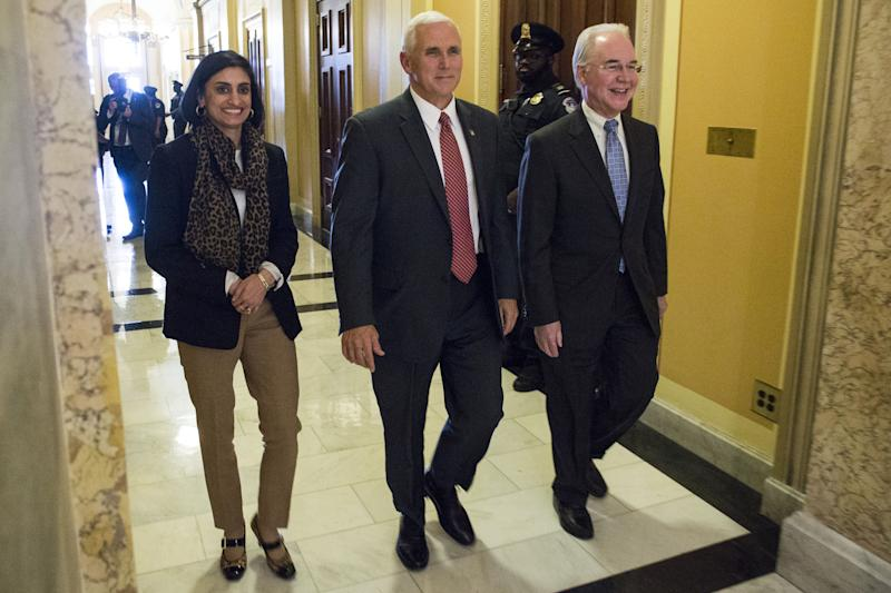 Administrator Seema Verma, Vice President Mike Pence
