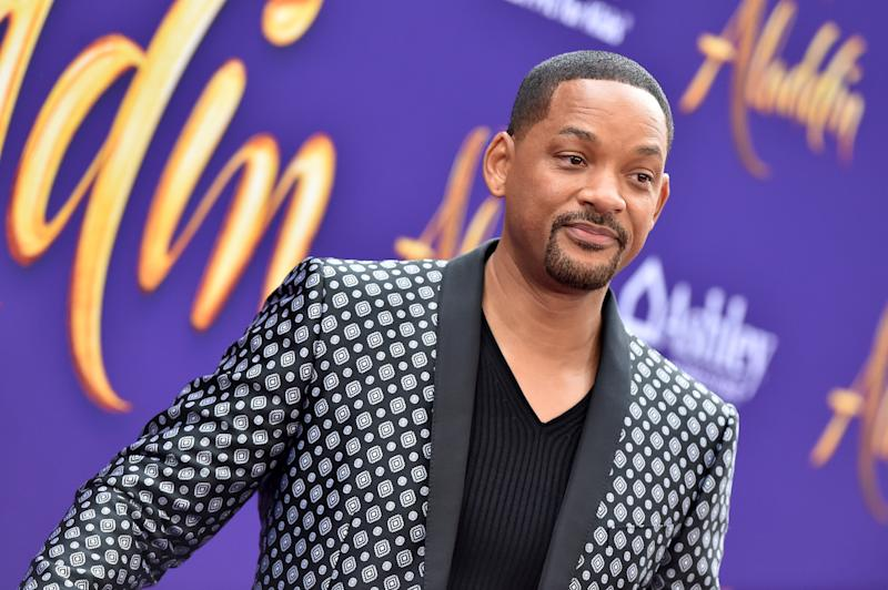 """LOS ANGELES, CALIFORNIA - MAY 21: Will Smith attends the premiere of Disney's """"Aladdin"""" on May 21, 2019 in Los Angeles, California. (Photo by Axelle/Bauer-Griffin/FilmMagic)"""