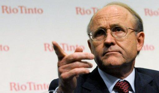 File photo of Rio Tinto Chairman Jan du Plessis who says he is more confident about the global outlook than he was six months ago, with demand for commodities expected to double over the next 20 years