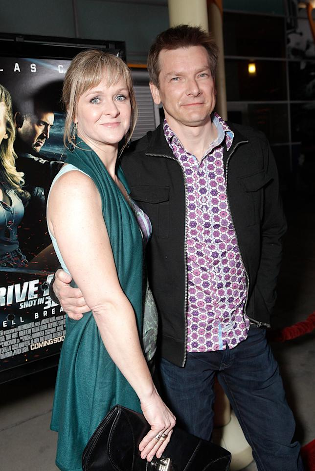 """<a href=""""http://movies.yahoo.com/movie/contributor/1800194573"""">Patrick Lussier</a> and guest attend the Los Angeles premiere of <a href=""""http://movies.yahoo.com/movie/1810143371/info"""">Drive Angry 3D</a> on February 22, 2011."""