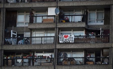 Hundreds still in emergency accommodation after Grenfell Tower fire