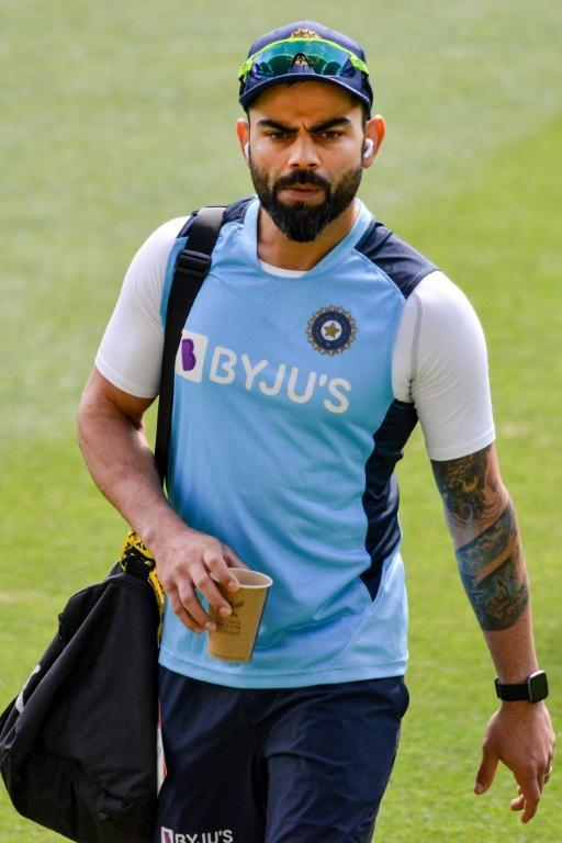 India's captain Virat Kohli leaves after training at the Adelaide Oval on Wednesday