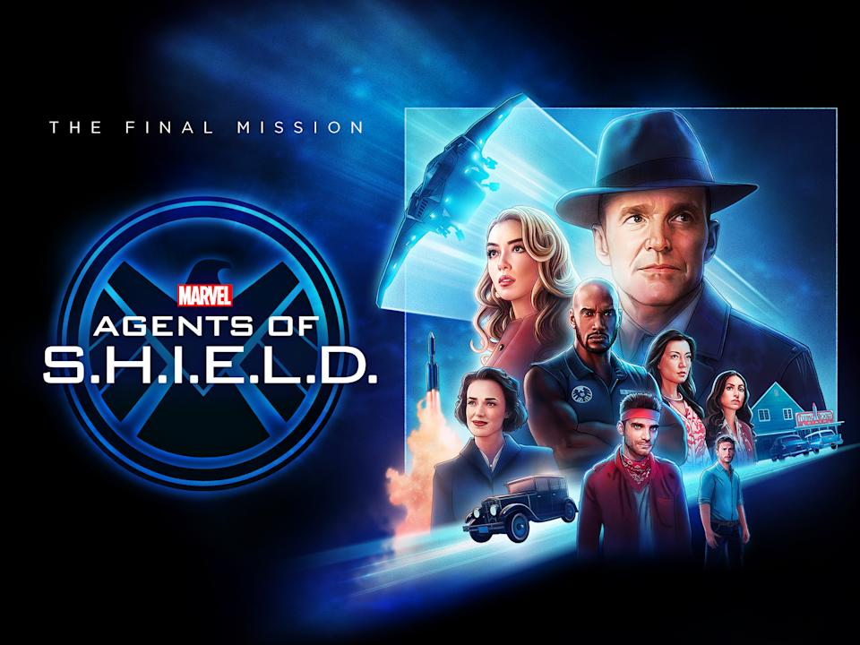 Key art for the final season of Marvel's Agents of S.H.I.E.L.D. (Disney)