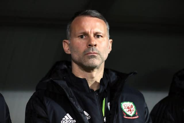Wales manager Ryan Giggs remains unpopular with some fans (Bradley Collyer/PA)