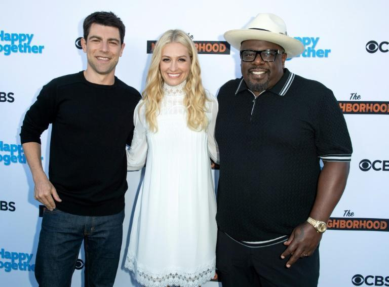 """Actors Max Greenfield, Beth Behrs and Cedric the Entertainer -- stars of CBS's """"The Neighborhood"""" -- are taking on racial justice in America this season, but not the coronavirus pandemic"""
