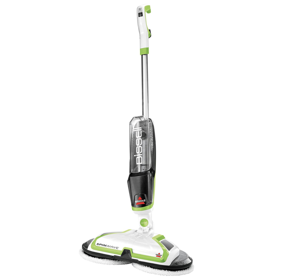 Bissell Spinwave Cord Powered Hard Floor Mop is on sale for Cyber Monday, $100 (originally $150).