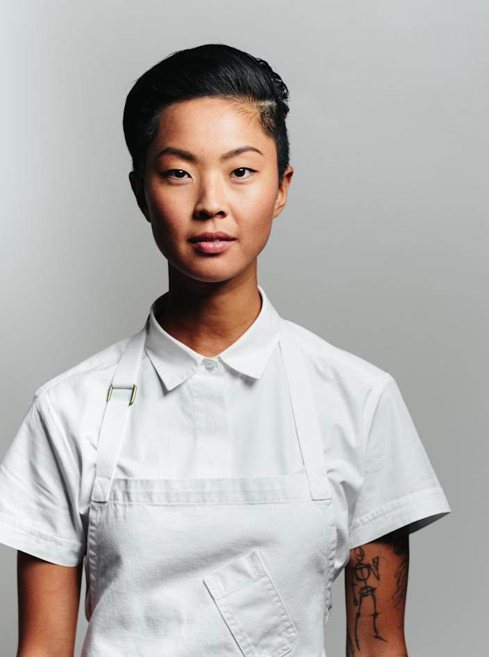 Kristen Kish became chef de cuisine at Barbara Lynch's Boston restaurants early in her career.