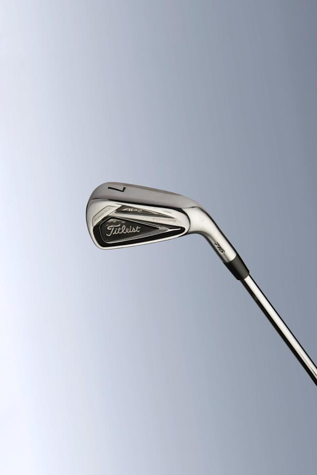 <p><strong>Specs:</strong> Titleist 716 AP2 (4-iron through pitching wedge), KBS Tour S-Taper shafts, Golf Pride MCC Plus4 grips</p> <p>I recently switched to the new T-100s with a U-500 4-iron. Like my AP2s, they have a lot pre-wear on the leading edge. I come into the ball steep with a lot of shaft lean. That makes it difficult to get the club in and out of the turf. The pre-wear leading edge helps.</p>