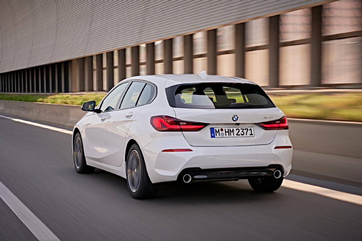 Even 118d models can get twin exhaust pipes