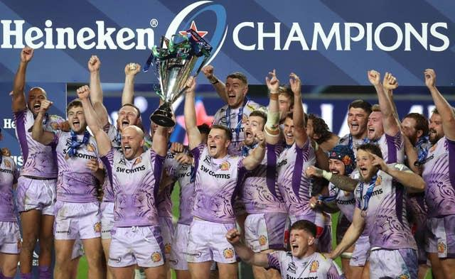 Exeter are the Champions Cup holders
