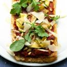 """<p>Part-baked ciabatta bread makes an instant light, airy pizza base for these inspired topping ingredients</p><p><strong>Recipe: <a href=""""https://www.goodhousekeeping.com/uk/food/recipes/a536302/parma-ham-courgette-and-pine-nut-pizza/"""" rel=""""nofollow noopener"""" target=""""_blank"""" data-ylk=""""slk:Parma ham, courgette and pine nut pizza"""" class=""""link rapid-noclick-resp"""">Parma ham, courgette and pine nut pizza</a></strong></p>"""