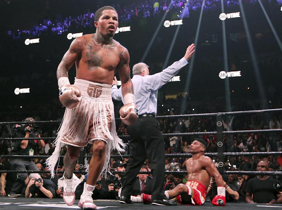 Gervonta Davis retains his unblemished professional record: AP