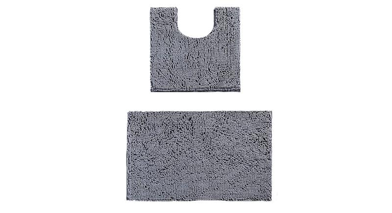 LUFENG Bath Mat Set 2 Pieces