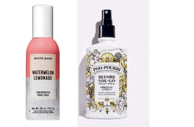 watermelon lemonade room spray and poo pourri