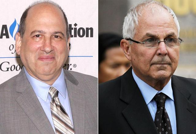 <p>The actor bears little resemblance to Bernie's brother and longtime business partner, who was sentenced to 10 years in prison for his part in the Ponzi scheme.<br><br>(Photo: Getty) </p>