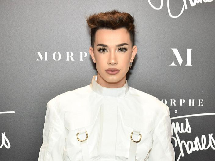 James Charles attends his Morphe Meet & Greet at Roosevelt Field Mall on December 1, 2018 in Garden City, New York.