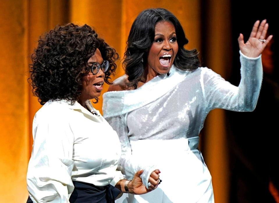 Power pals: Oprah and Michelle ObamaAFP via Getty Images
