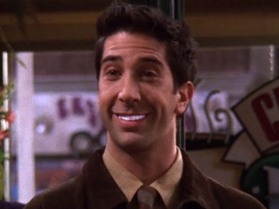 There are plenty of products to get your gnashers sparkling again – just maybe don't overdo it like Ross from 'Friends' (Warner Bros)