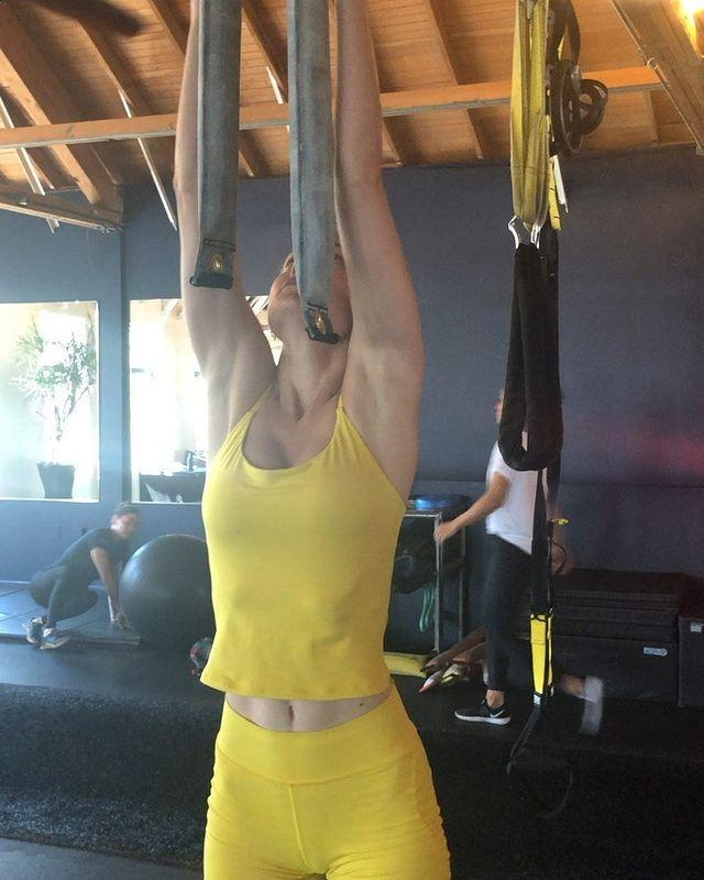 """<p>Not satisfied with just one variation, Brie likes to spice things up with different grips – a brilliant way to work on new techniques, target different muscles and improve how much your hands can take.</p><p>Don't let a bad grip stop you from levelling up your workouts, snap up a pair of <a href=""""https://www.womenshealthmag.com/uk/gym-wear/g33506734/weight-lifting-gloves/"""" rel=""""nofollow noopener"""" target=""""_blank"""" data-ylk=""""slk:weightlifting gloves"""" class=""""link rapid-noclick-resp"""">weightlifting gloves</a> and hit that next PB. </p><p><a href=""""https://www.instagram.com/p/B1eExL7jPmA/"""" rel=""""nofollow noopener"""" target=""""_blank"""" data-ylk=""""slk:See the original post on Instagram"""" class=""""link rapid-noclick-resp"""">See the original post on Instagram</a></p>"""