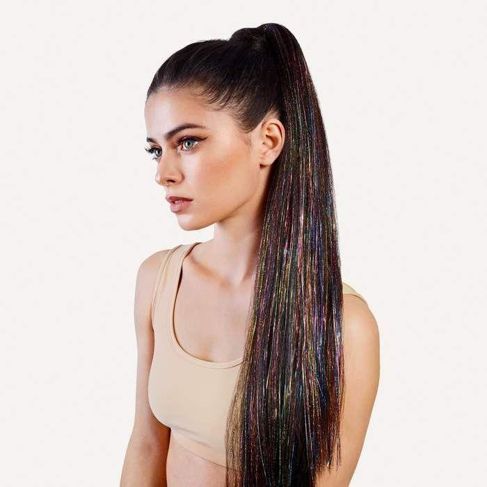 "<p><strong>Kacey Pony</strong></p><p>inhhair.com</p><p><strong>$63.00</strong></p><p><a href=""https://inhhair.com/products/hi-im-kacey-tinsel-ponytail-extensions?variant=33399468818572"" rel=""nofollow noopener"" target=""_blank"" data-ylk=""slk:Shop Now"" class=""link rapid-noclick-resp"">Shop Now</a></p><p>The super-fun pony extensions from Insert Name Here are celeb inspired and 60% off, plus you'll bet 40% off the entire site with code ""INHCM.""</p>"