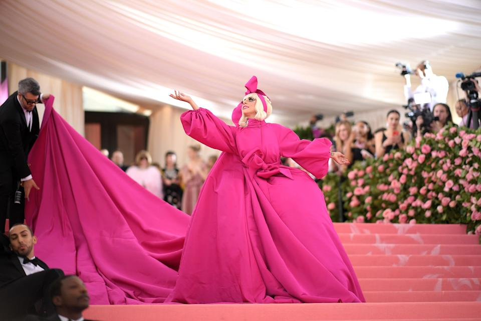 """<h1 class=""""title"""">Lady Gaga in Brandon Maxwell, 2019</h1><cite class=""""credit"""">Photo: Getty Images</cite>"""