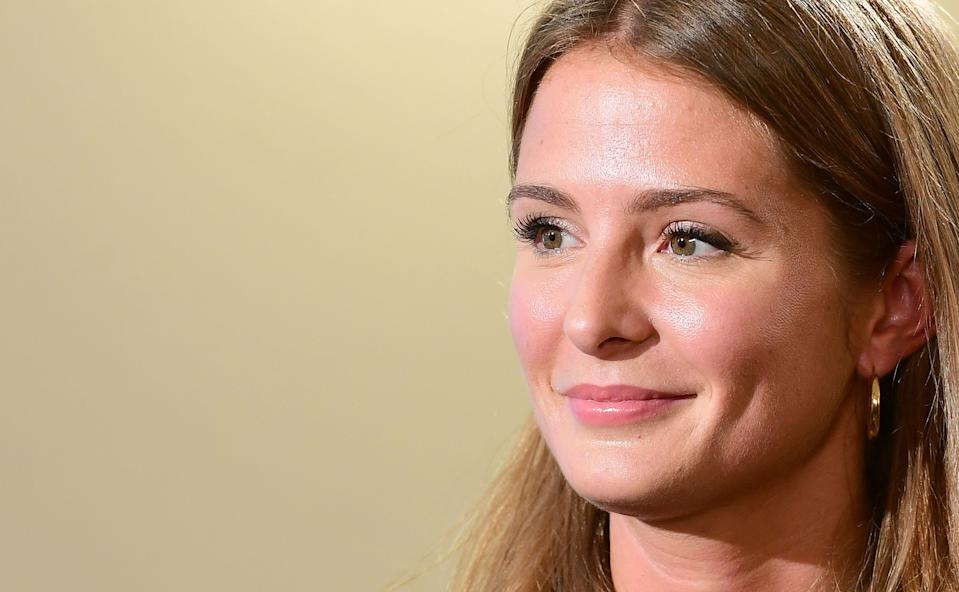 Millie Mackintosh during a Build event, in association with Yahoo Style, in Somerset House, London. (Photo by Ian West/PA Images via Getty Images)
