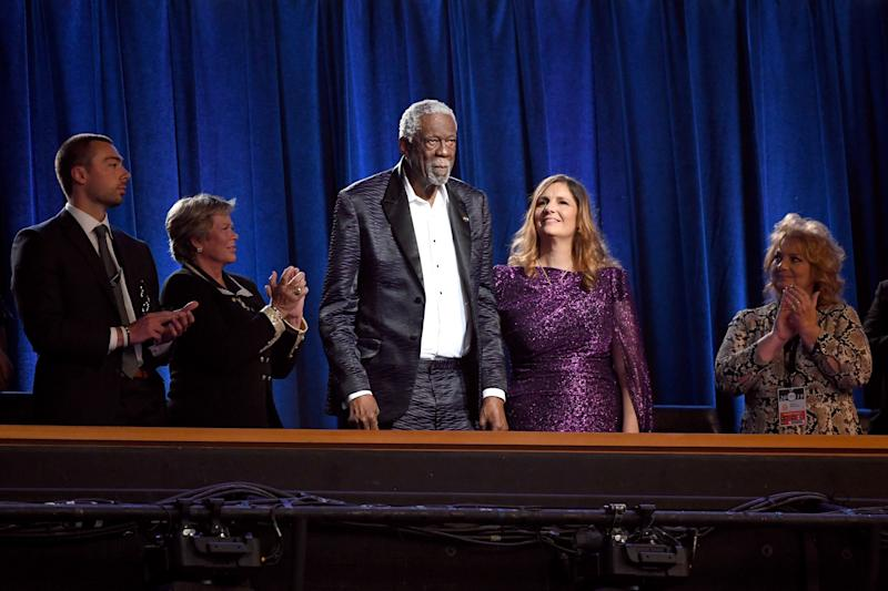 Boston Celtics Legend Bill Russell Receives the Arthur Ashe Courage Award at the 2019 ESPYs