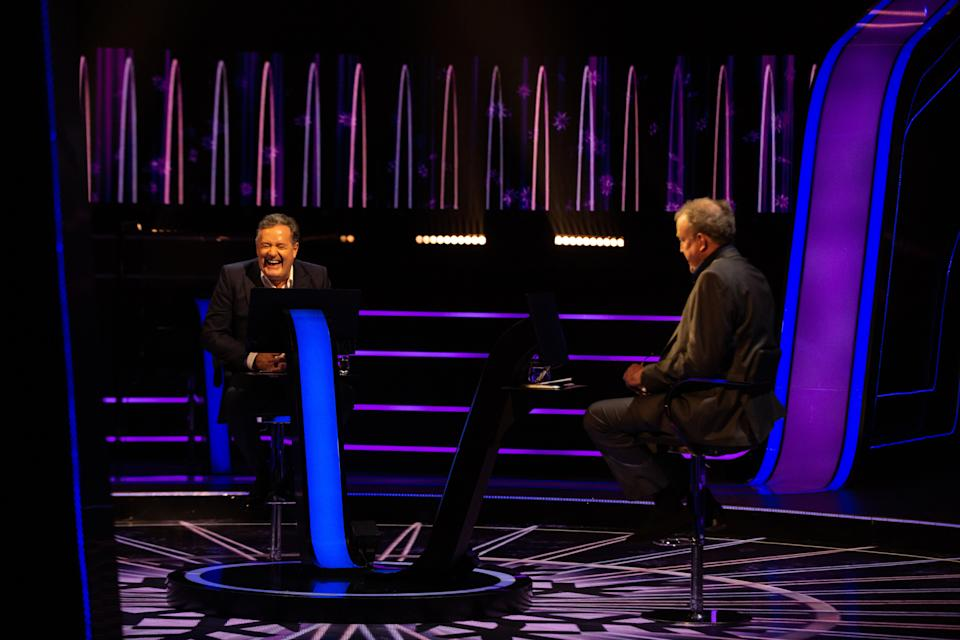 Jeremy Clarkson and Piers Morgan had a long-running feud for many years. (Stellify Media/ITV)