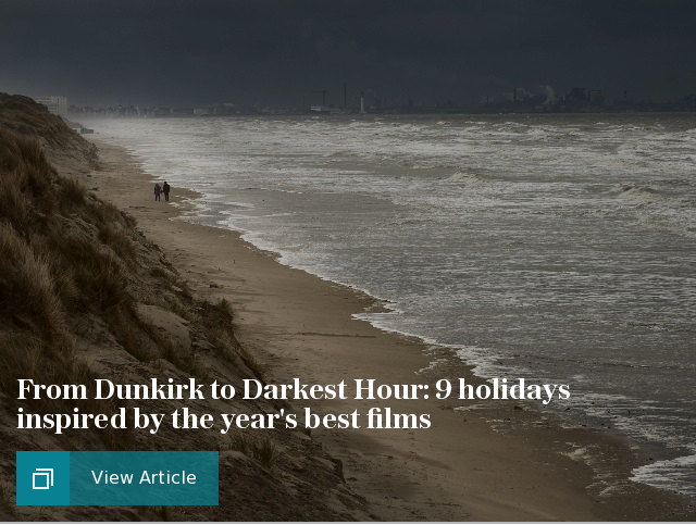 From Dunkirk to Darkest Hour: 9 holidays inspired by the year's best films