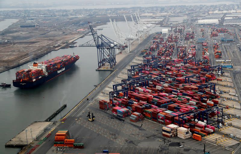 U.S. imports surge as pandemic worries have retailers stockpiling