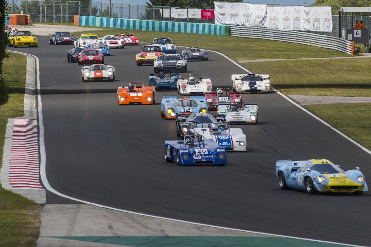 """<p>I couldn't make it to this year's Hungaroring Classic, but luckily, my friend, sci-tech photo journalist <a href=""""https://www.instagram.com/scanzen/"""" target=""""_blank"""">Attila Karoly Nagy</a> was there to snap some photos of the action. And what a turnout! See if you can name all of these hero cars of racing.<br></p>"""