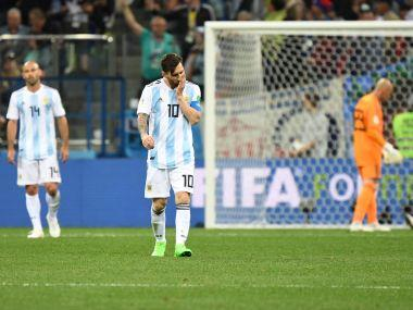 FIFA World Cup 2018: Jorge Sampaoli's tactical errors relegate Lionel Messi to sidelines as Argentina stare at early exit