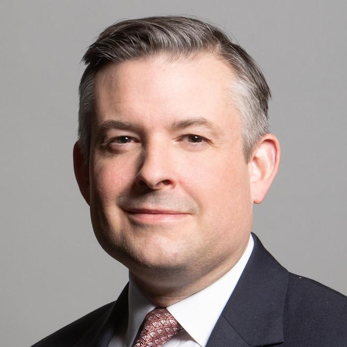 Shadow health secretary Jonathan Ashworth (UK Parliament)