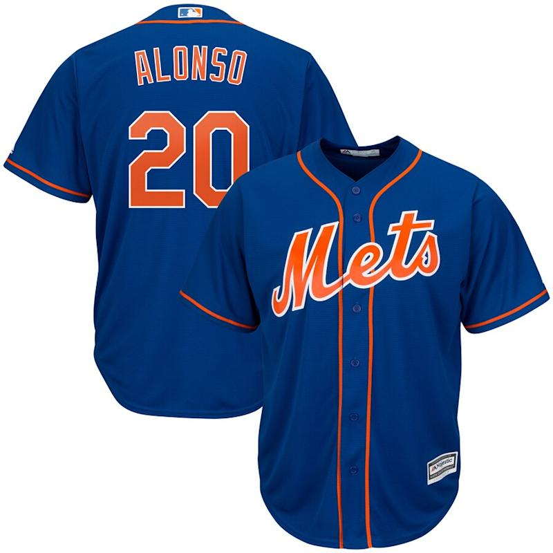 Alonso Mets Cool Base Player Jersey