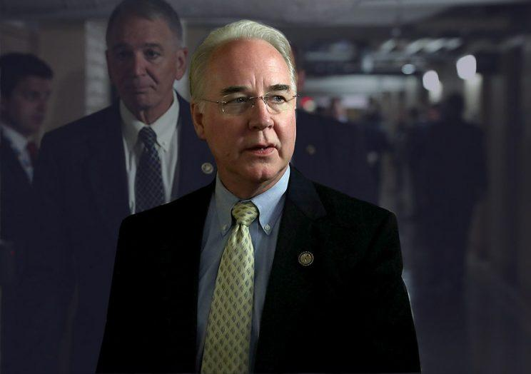 Tom Price (R-GA) (R) (Photo by Alex Wong/Getty Images)